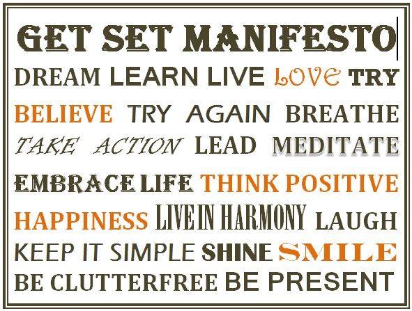 Get Set Manifesto