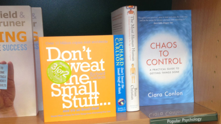 Chaos to Control for sale in Easons Bookshop
