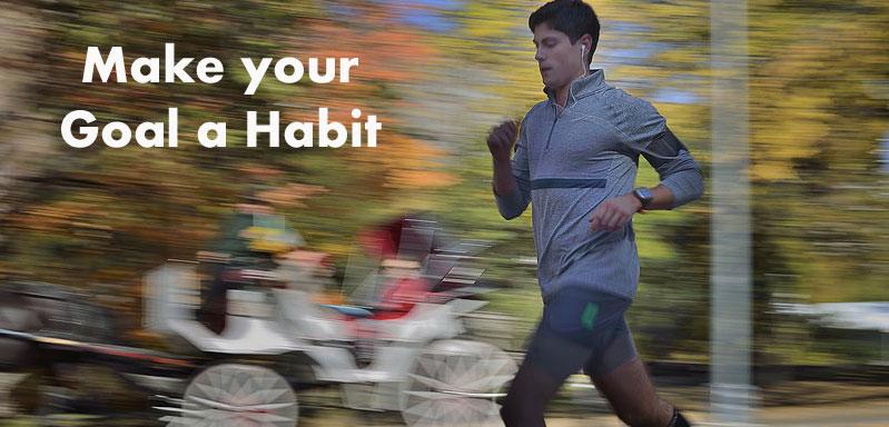 make goal a habit