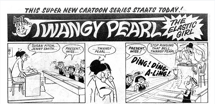 Twangy Pearl the Elastic Girl