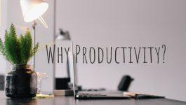 why productivity?